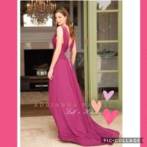 Adrianna Papell STRE TUL MER dress